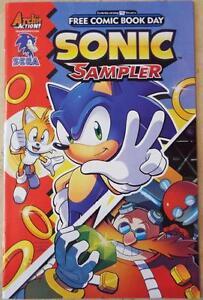 NEW-SONIC-SAMPLER-FCBD-Archie-Action-Sega