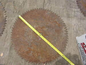 Large-Sawmill-Buzz-Saw-Blade-23-1-2-034-Diameter-Solid-Sawblade