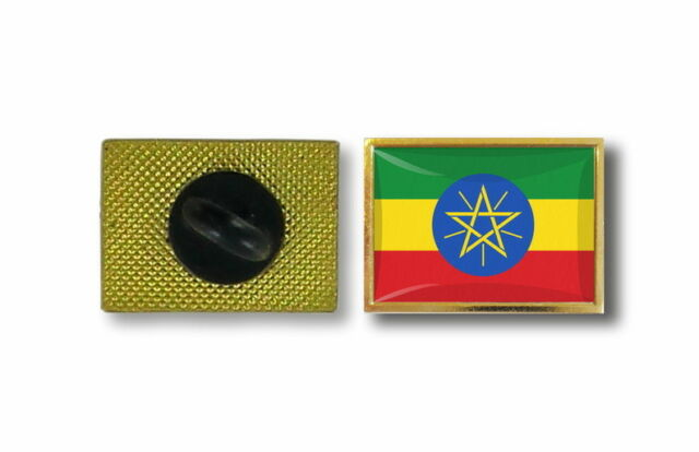 pins pin's flag national badge metal lapel backpack hat button vest ethiopia
