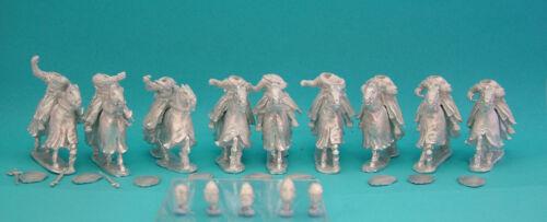 28mm Curteys 6 x Medieval Crusades Knights 06 Kettle Helm lion Rampant Saga