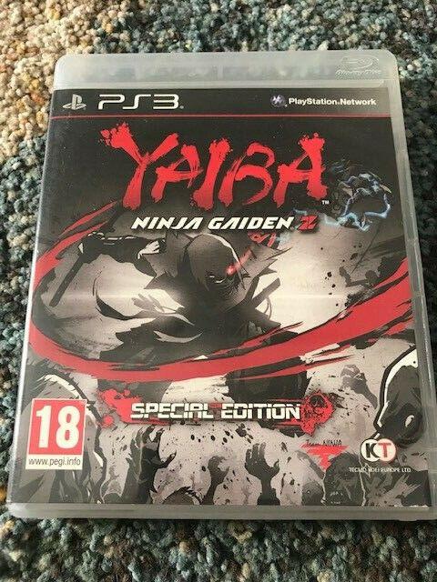 Yaiba: Ninja Gaiden Z Special edition (Sony PlayStation 3, 2014) MINT