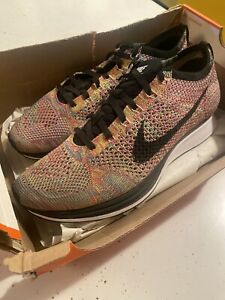 Nike-Flyknit-Racer-Multicolor-1-0-526628-004-Mens-9-5-Womens-11-OG-supreme
