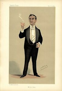 THEATRE STAGE PLAYER MANAGER ENGLISH ACTOR MR. JOHN HARE GARRICK CLUB THEATRE
