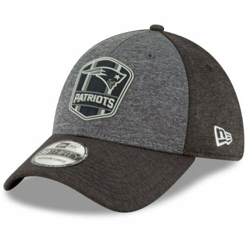 New Era 39Thirty Cap Black Sideline New England Patriots