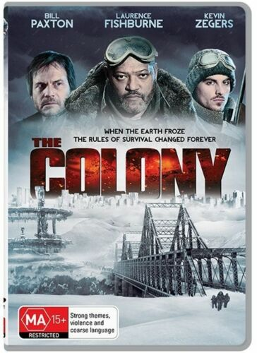 1 of 1 - The Colony (DVD, 2014) ACTION [Region 4] NEW/SEALED Survival Frozen Earth