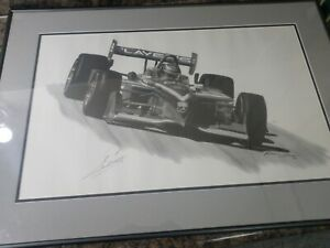 IndyCar-Greg-Moore-forsythe-Players-autographed-print-by-Michael-Savage-1999