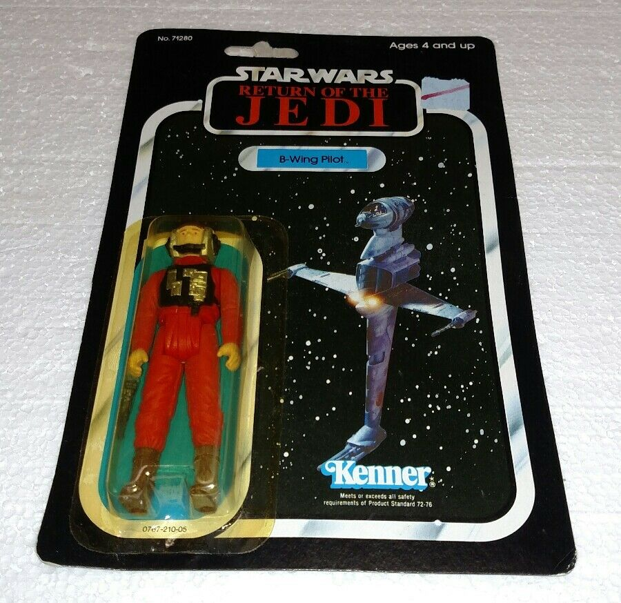 VINTAGE STAR WARS B-WING PILOT RETURN OF THE JEDI ROTJ KENNER 1983 BRAND NEW
