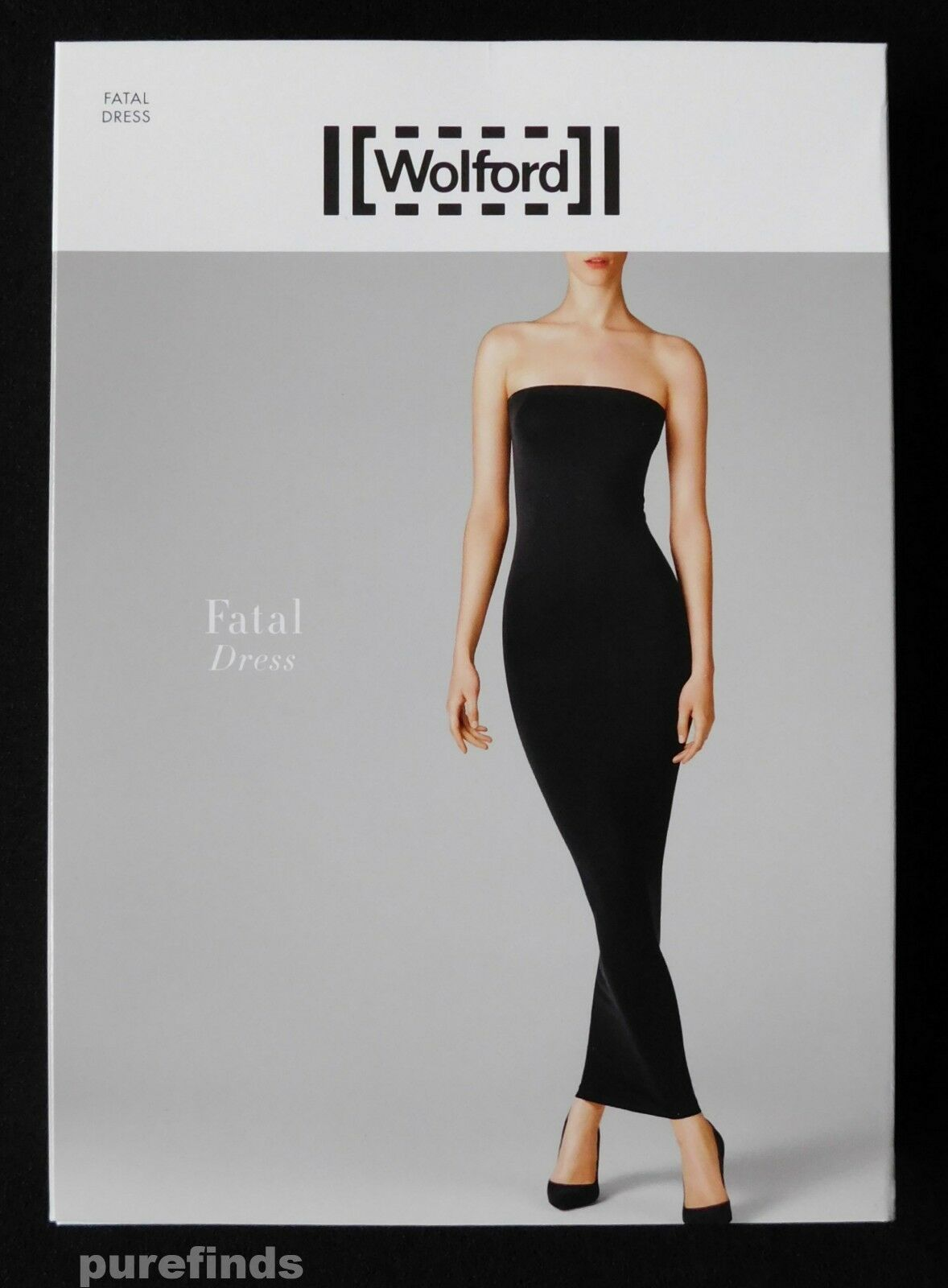 WOLFORD FATAL DRESS 50706, TURQOISE blueE, SIZE SMALL, USA 8 New in box