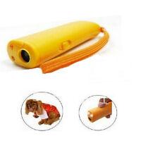 1pcs Ultrasonic Pet Dog Repeller Training Anti Barking Trainer Electronic Device