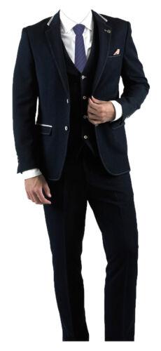 Navy Scuro Will Pezzi Abito Formale Marc Darcy Moda Uomo 3 Blu n1UgZxW
