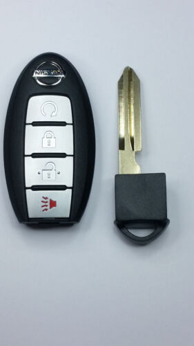 2015-2016 Nissan Smart Keyless Entry Remote w// Insert Emergency Key