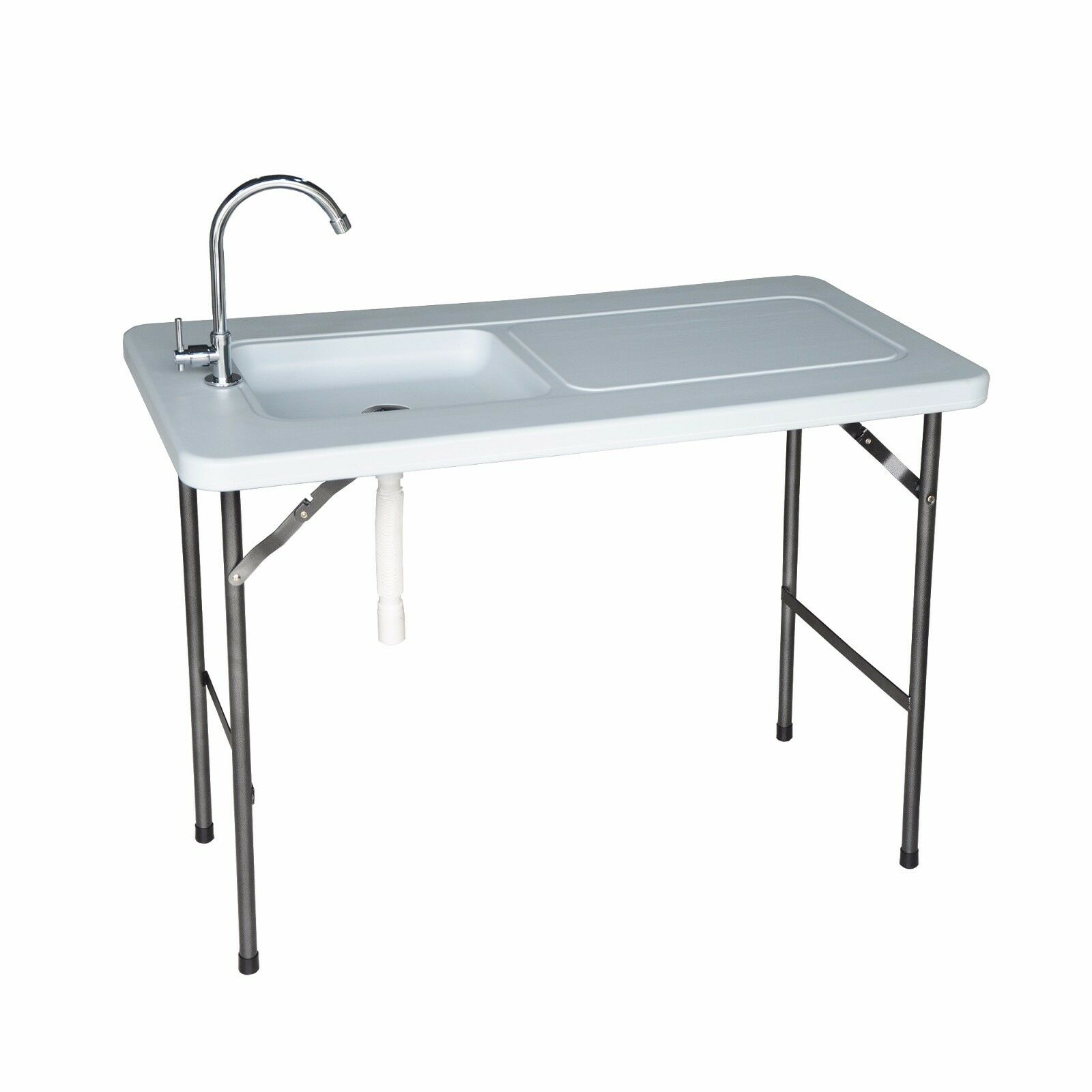 High Desert Multipurpose Folding Fish & Game Cleaning Utility Table with Faucet