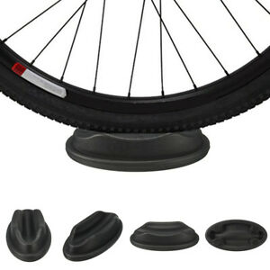 1x Bike Turbo Trainer Front Wheel Riser Black Block Support Bicycle Cycle 9UK