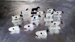 Bachmann-42201-Animal-Set-contains-12-pieces-H0-1-87-Scale