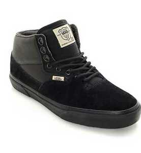 20130e55e31095 NEW MEN S 8.5 9.5 VANS BUFFALO TRAIL CIVILWARE MTE BLACK SKATE SHOES ...