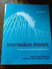 Saddleback college beginning algebra 2nd custom edition ebay intermediate algebra 2nd edition kalamazoo valley community college fandeluxe Image collections