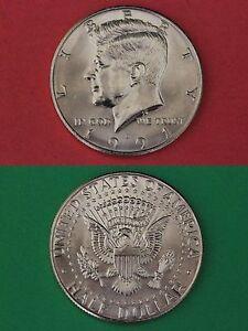 1970-D Uncirculated John Kennedy Half Dollar With DIY Slab Combined Shipping