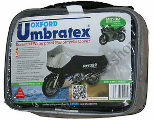 Oxford-Umbratex-Cover-Waterproof-Outdoor-Motorcycle-Cover-size-M-Medium-CV106