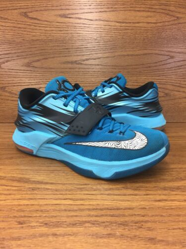 Scarpe Clearwater da basket taglia Nike 414 uomo Kd 7 da 11 5 653996 Blu Nero Bianco qTUTrwX