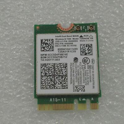 Intel 7260 7260ngw an Ngff IBM Lonovo Wireless Wifi 04x6008 Bt Bluetooth Wireless Card