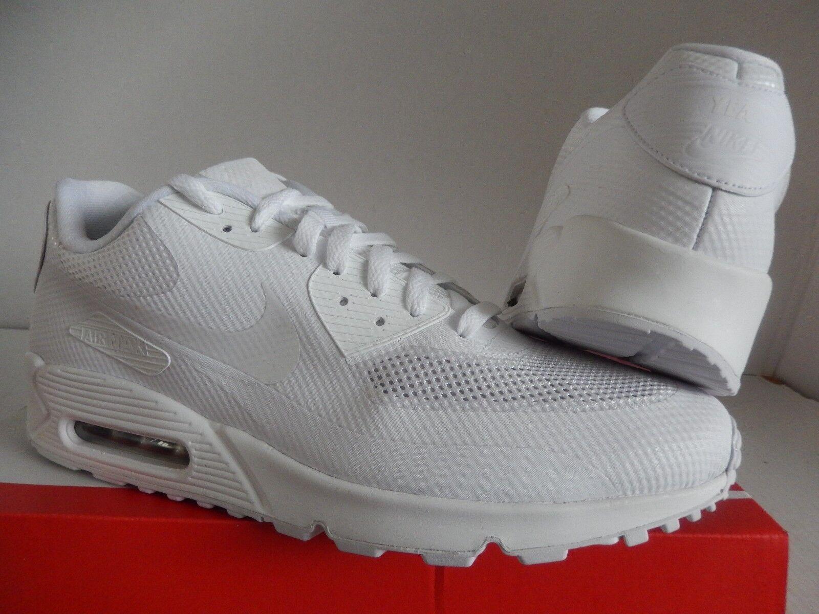 Nike air max max max 90 hyp hyperfuse premium - id alle weißen sz 13 [653603-991] a11451