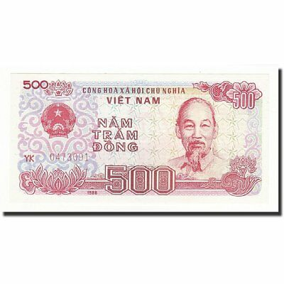Vietnam 500 Dong 65-70 Trend Mark Perfect In Workmanship 1988 Km:101b #590045 Unc
