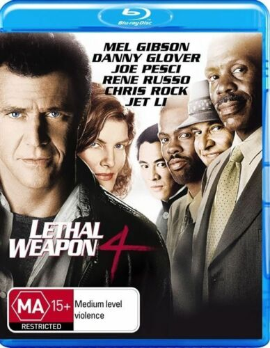 1 of 1 - Lethal Weapon 04 (Blu-ray, 2010)