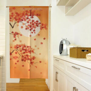 JAPANESE Noren Curtain MAPLE LEAF FROM JAPAN