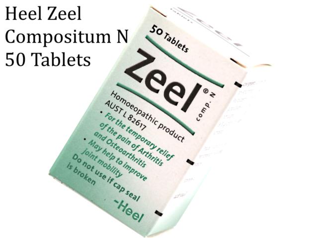 HEEL Zeel Compositum N 50 tablets