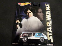 2015 Hot Wheels Star Wars Dream Van Xgw Panel Hw Hotwheels White Rare