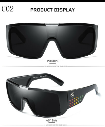 New Windproof Large Oversized Sunglasses Outdoor Sport Cycling Bike Goggles 2