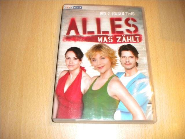 Alles was zählt - Box 2, Folgen 21-40 (3 DVDs) von Klaus Wi...   DVD   H3