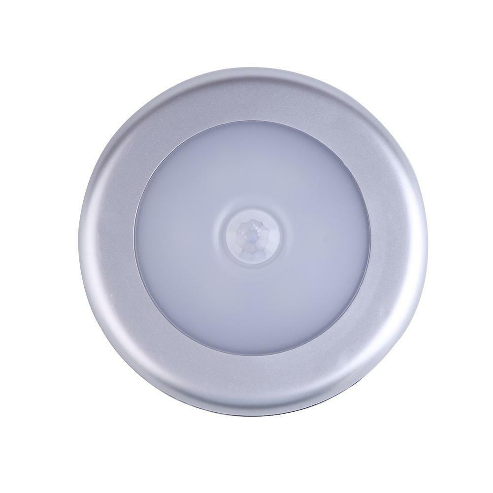 6 Led Kabellos Bewegung Lichtsensor Magnetisch Streifen Home Schrank Nachtlicht
