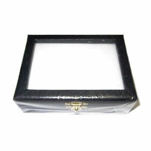 Coffret-Diamantaire-Vitre-Bois-Similicuir-10x-7-5x-3cm-Pierres-Precieuses