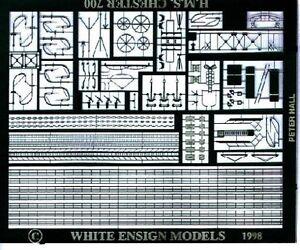 White-Ensign-Models-1-700-PE7024-WWI-British-Cruiser-Destroyer-Etching-Parts