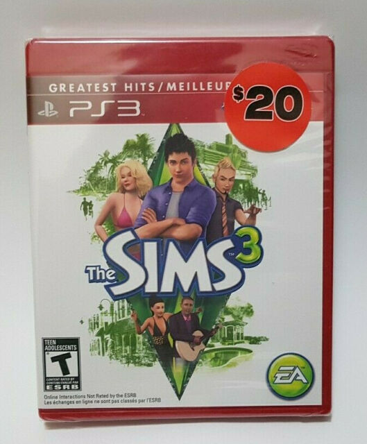 The Sims 3 (Sony PlayStation 3, 2012) Brand New