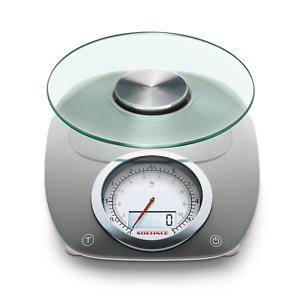 Soehnle-Vintage-Style-Digital-Kitchen-Scale-Gray