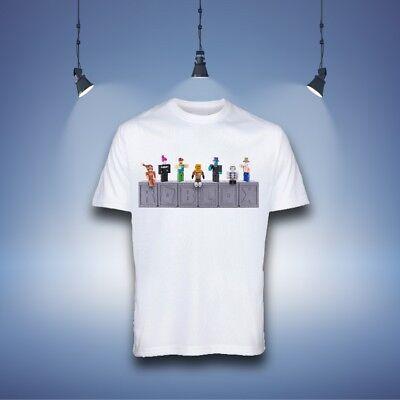 Roblox Kids Fun T-Shirt Boys Tops /& Shirts
