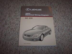 2004 lexus sc430 sc 430 electrical wiring diagram manual convertible 2002 Lexus GS300 Wiring Diagrams image is loading 2004 lexus sc430 sc 430 electrical wiring diagram