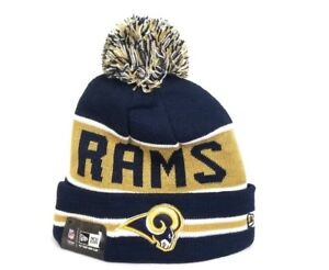 Image is loading Los-Angeles-Rams-New-Era-NFL-Winter-Beanie- 339395fab98