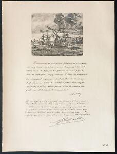 1926-Litografia-citacion-tarjeta-Garbit-Guerra-14-18