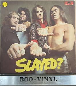 SLADE-SLAYED-RARE-ORIGINAL-UK-POLYDOR-12-034-VINYL-LP-2383-163-VG-EX-CON