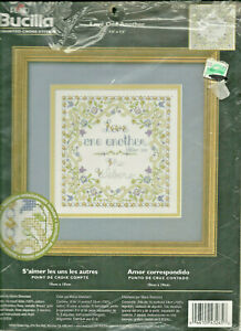 Love-One-Another-Counted-Cross-Stitch-Kit-Bucilla-43265-I-Peter-1-22-opened