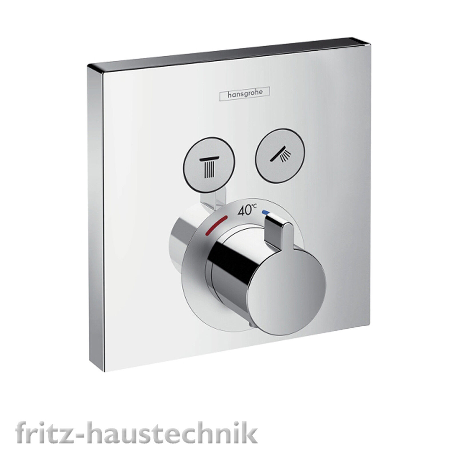 Hansgrohe Shower Select Thermostat Fertigmontageset UP Wannenmischer 15763000