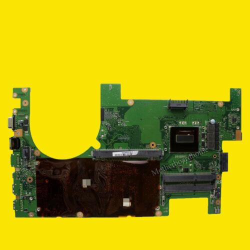 For ASUS G750J G750JH 3D Laptop Motherboard I7-4700HQ G750JW REV 2.1 Mainboard
