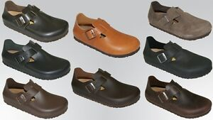 Birkenstock-London-Zapatos-Sandalias-Mocasin-Mujer-Hombres-Zapatos-NUEVO