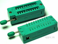 20 PIN UNIVERSAL ZIF TEST DIP IC SOCKET for DIY Arduino - UK seller