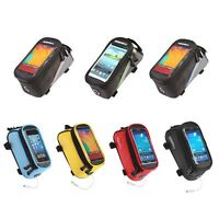 Bike Bicycle Frame Front Tube Bag Phone Case For Iphone 5 6s Plus 4 To 5.5-inch