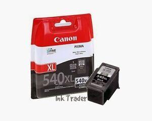 Original Canon PG540XL (High Capacity) Black Ink Cartridge ...