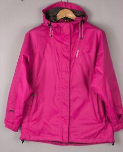 Didriksons Damen Storm System Dry2 Wasserfeste Jacke Mantel Größe 42 BCZ375